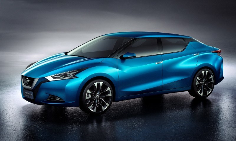 2014 Nissan Lannia Concept Previews Next Leaf EV 21