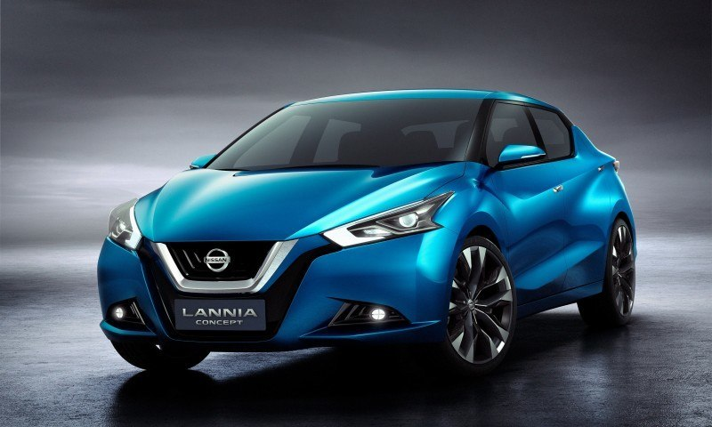 2014 Nissan Lannia Concept Previews Next Leaf EV 22