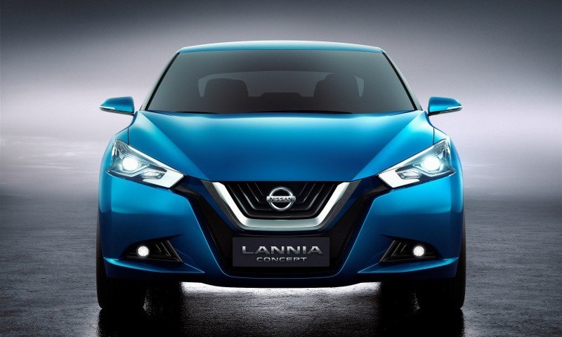 2014 Nissan Lannia Concept Previews Next Leaf EV 23