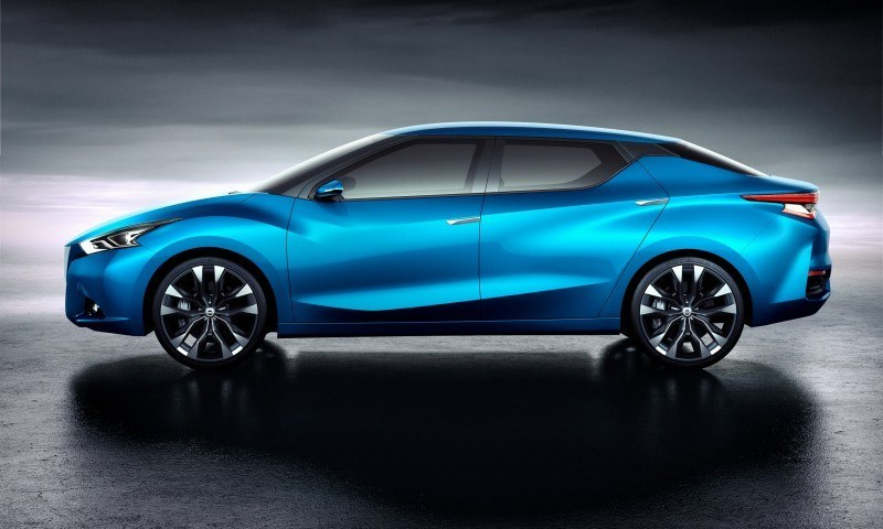 2014 Nissan Lannia Concept Previews Next Leaf EV 24
