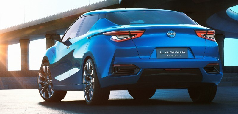 2014 Nissan Lannia Concept Previews Next Leaf EV 5