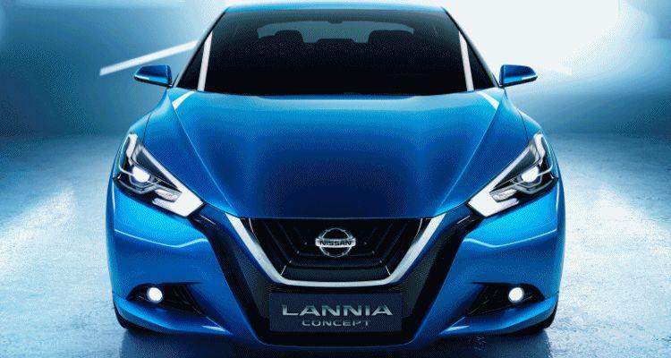 2014 Nissan Lannia Concept Previews Next Leaf EV GIF 1 header