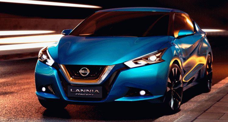 2014 Nissan Lannia Concept Previews Next Leaf EV GIF 2 header