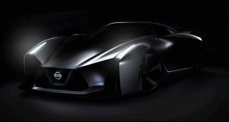 2014 Nissan Vision GTI teaser GIF