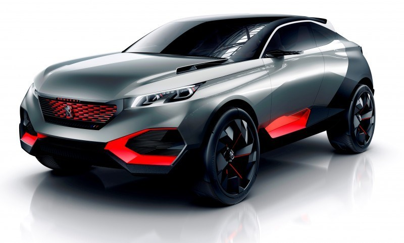 2014 Peugeot Quartz Concept Revealed Ahead of Paris Show  1