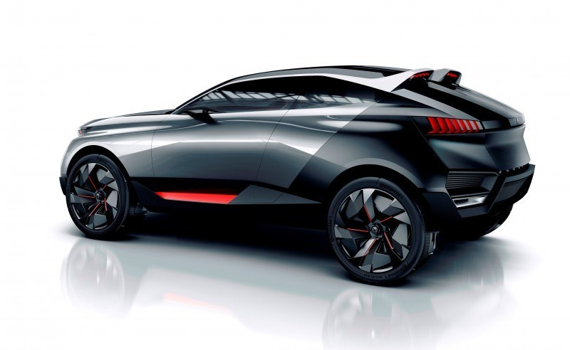2014 Peugeot Quartz Concept Revealed Ahead of Paris Show 9