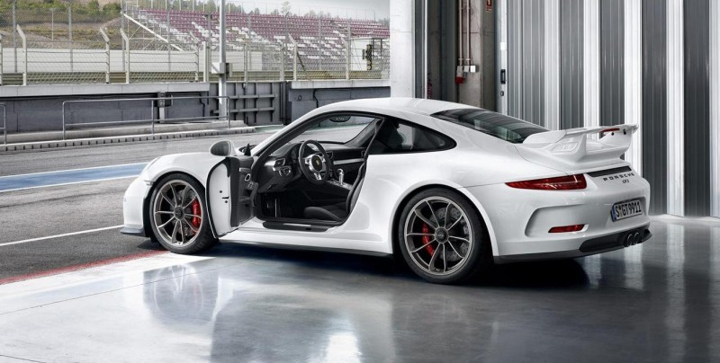 2014 Porsche 911 GT3 Is 9000-RPM Boxer Bliss 9