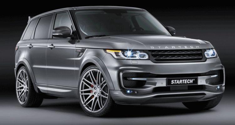 2014 Range Rover Sport STARTECH Widebody header gif