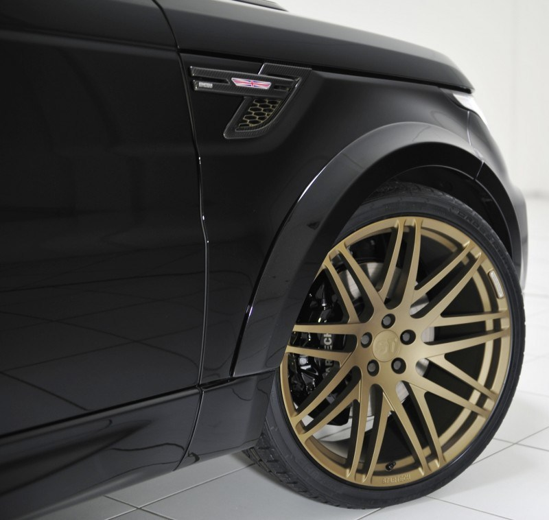 2014 Range Rover Sport STARTECH Widebody on 23-Inch Wheels Looks Amazing 11