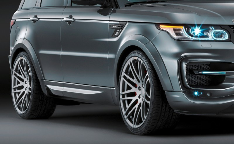 2014 Range Rover Sport STARTECH Widebody on 23-Inch Wheels Looks Amazing 4