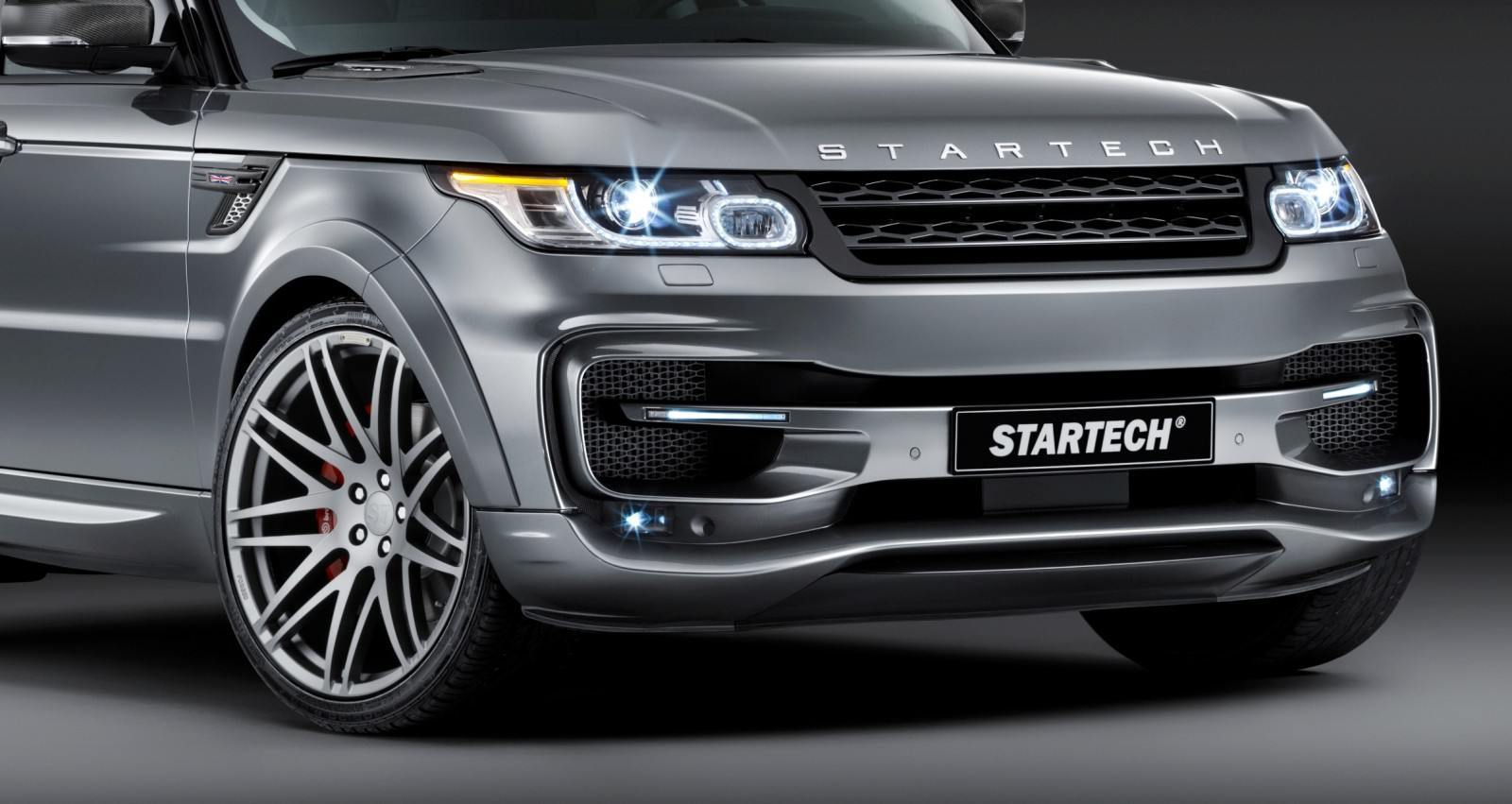 2014 Range Rover Sport STARTECH Widebody on 23-Inch Wheels Looks Amazing 5