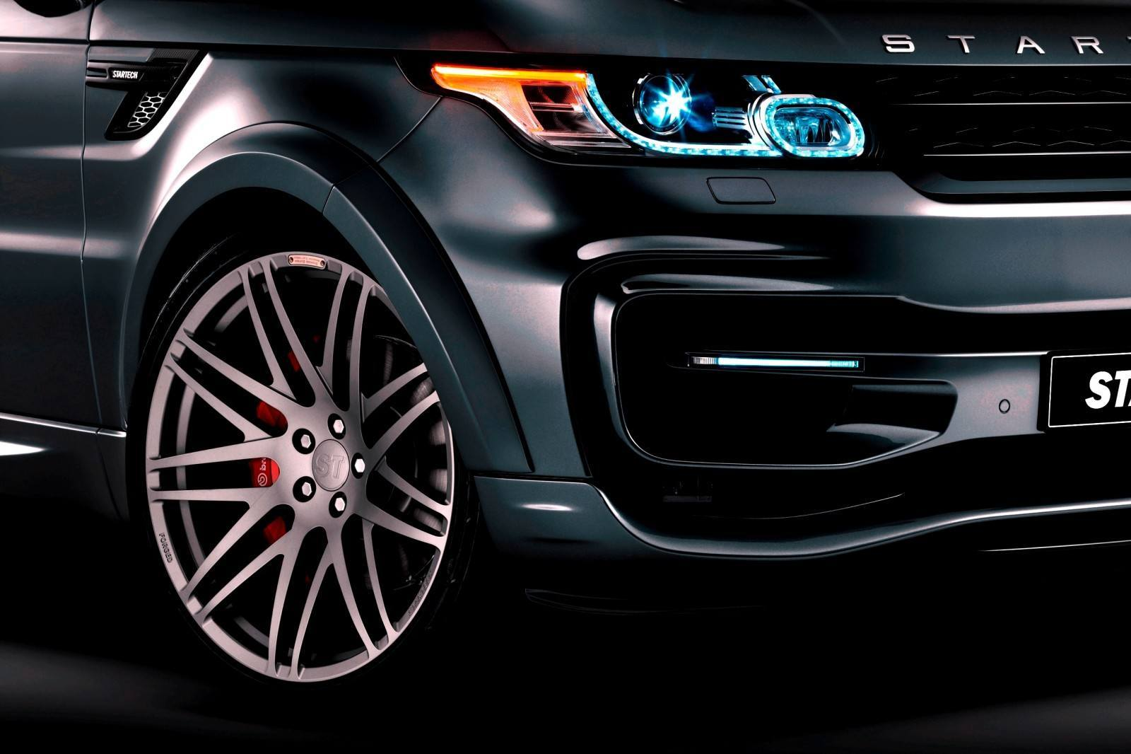 2014 Range Rover Sport STARTECH Widebody on 23-Inch Wheels Looks Amazing 6