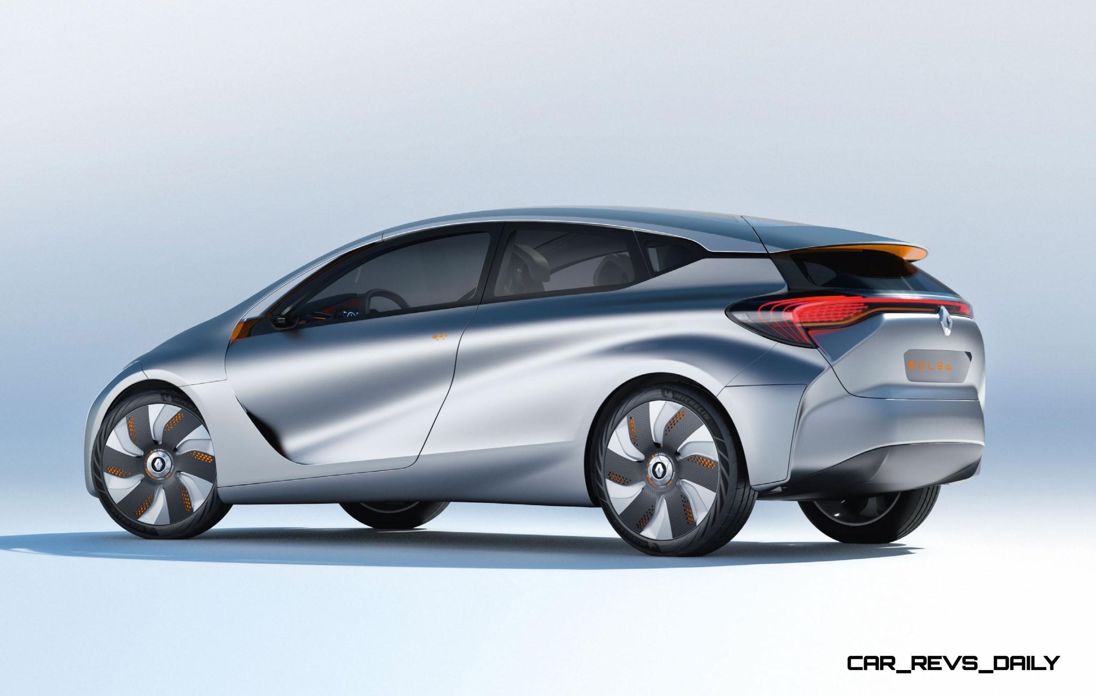 2014 Renault Eolab Concept Is Ultra-Aerodynamic Innovation