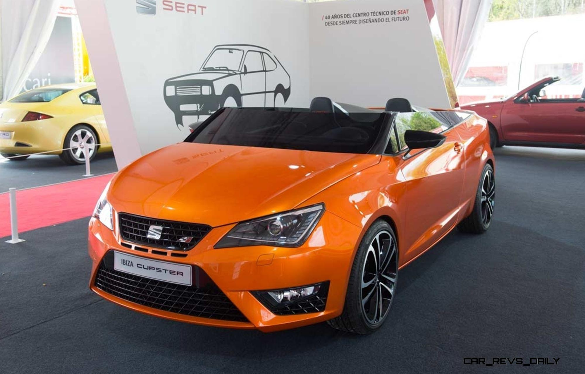 design analysis 2014 seat ibiza cupster. Black Bedroom Furniture Sets. Home Design Ideas