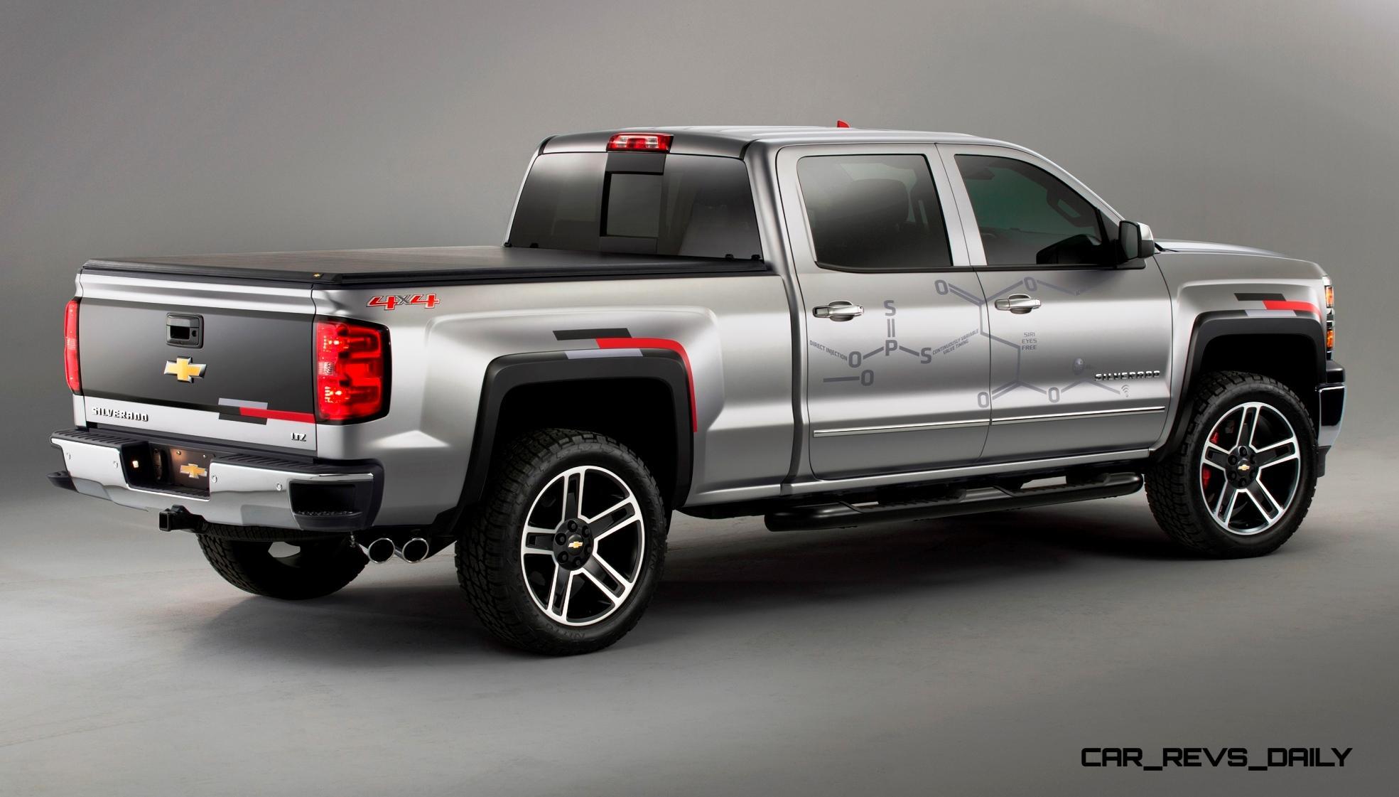 Chevrolet SEMA Truck Concepts Suck: COLORADO SPORT and ...