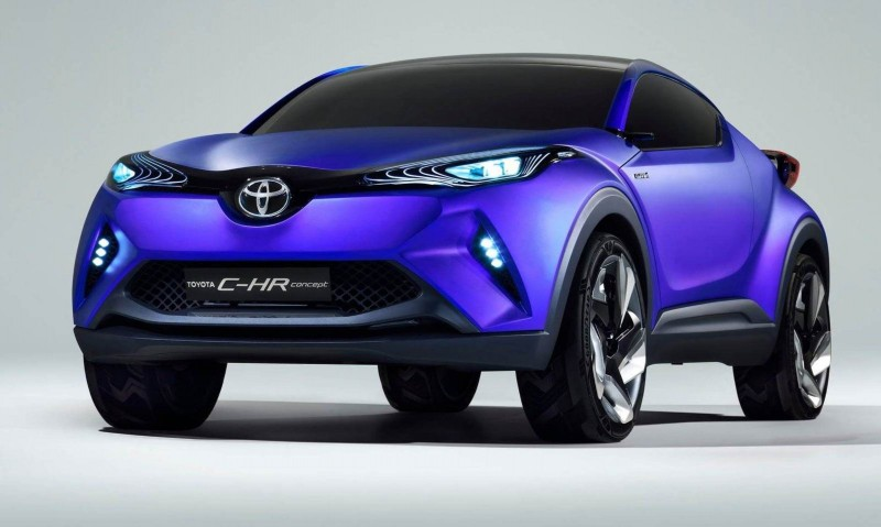 2014 Toyota C-HR Concept for Paris Previews Yaris Crossover  1