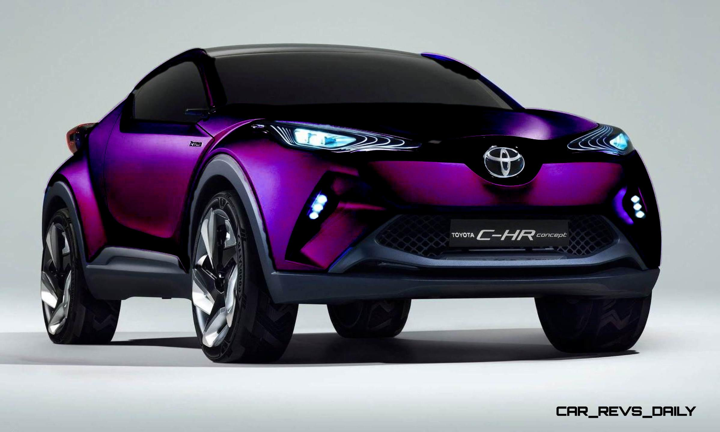 2014 toyota c hr concept for paris previews yaris crossover 1 copy53. Black Bedroom Furniture Sets. Home Design Ideas