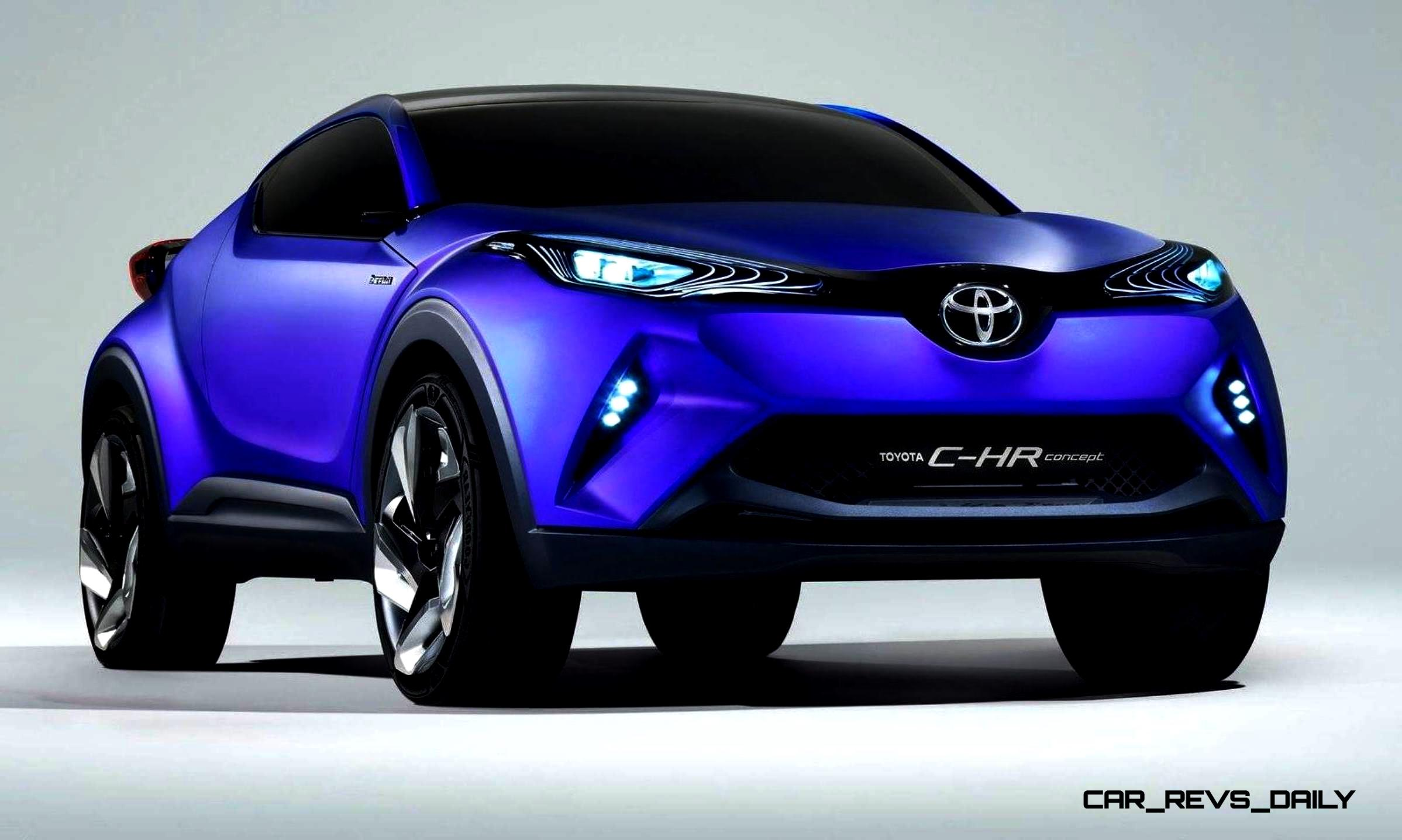 2014 Toyota C HR Concept for Paris Previews Yaris Crossover