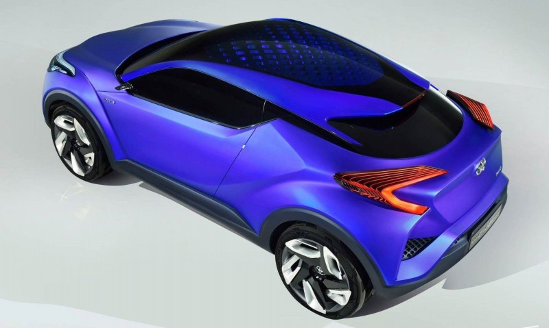 2014 Toyota C-HR Concept for Paris Previews Yaris Crossover  2