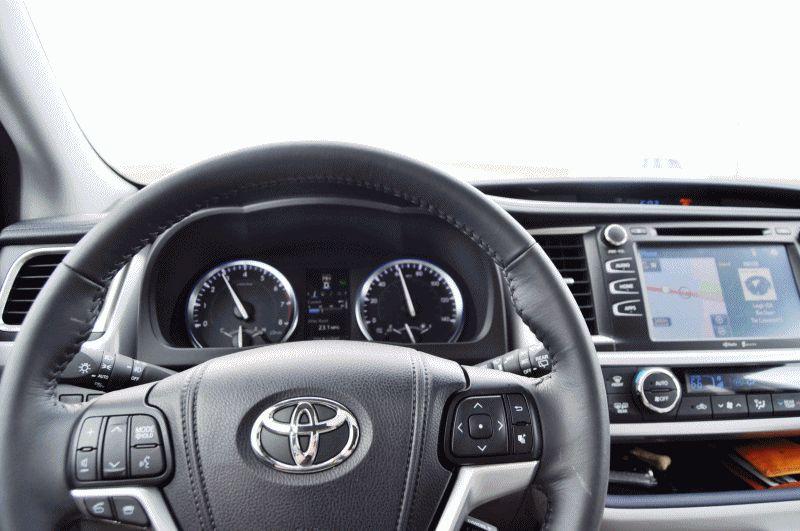 2014 Toyota Highlander INTERIOR GIF1