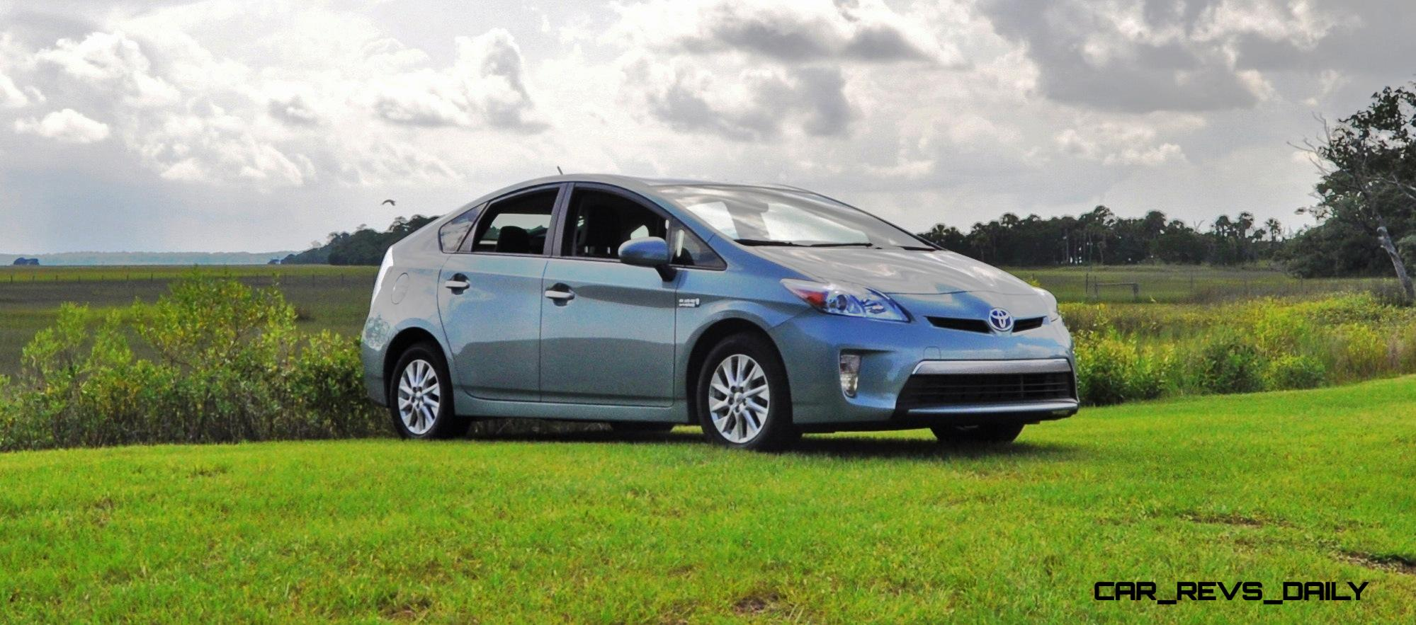 road test review   2014 toyota prius plug in is quietly