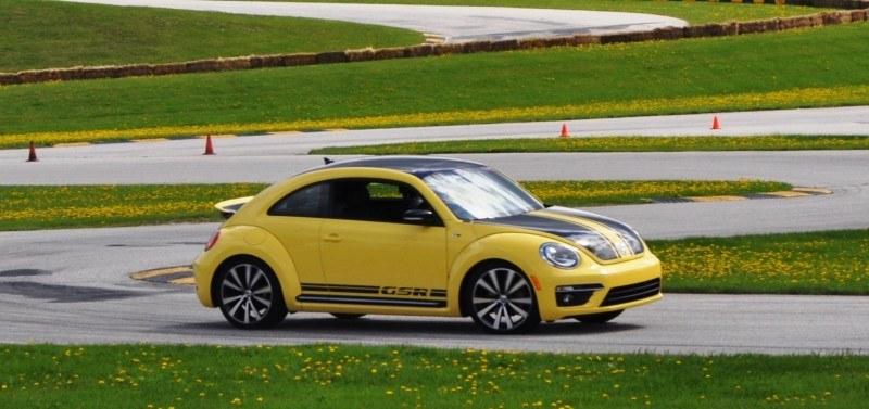 2014 Volkswagen Beetle GSR Scoots Around Go-Kart Autocross at Road America 10