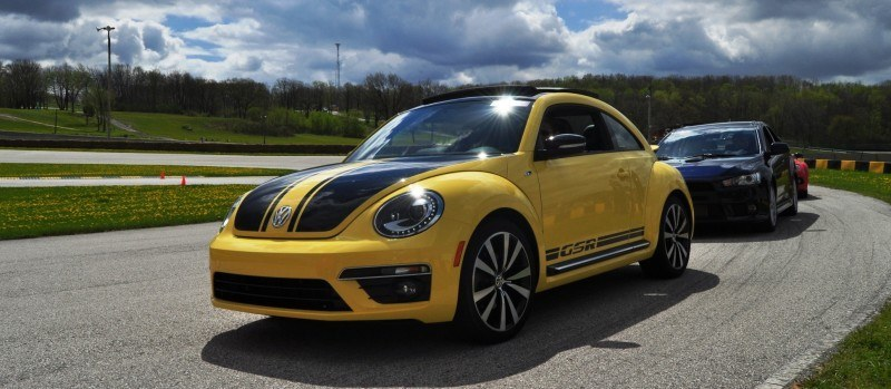2014 Volkswagen Beetle GSR Scoots Around Go-Kart Autocross at Road America 17