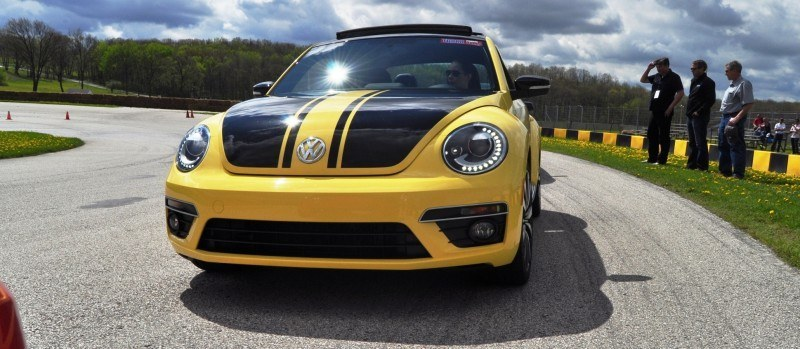 2014 Volkswagen Beetle GSR Scoots Around Go-Kart Autocross at Road America 19