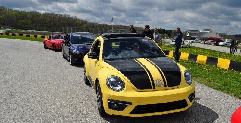 2014 Volkswagen Beetle GSR Scoots Around Go-Kart Autocross at Road America 21