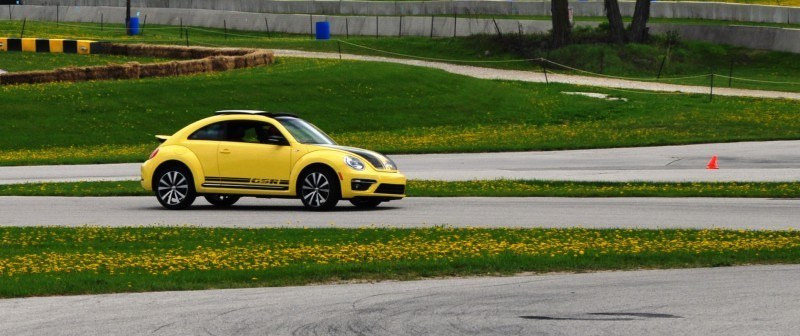 2014 Volkswagen Beetle GSR Scoots Around Go-Kart Autocross at Road America 31