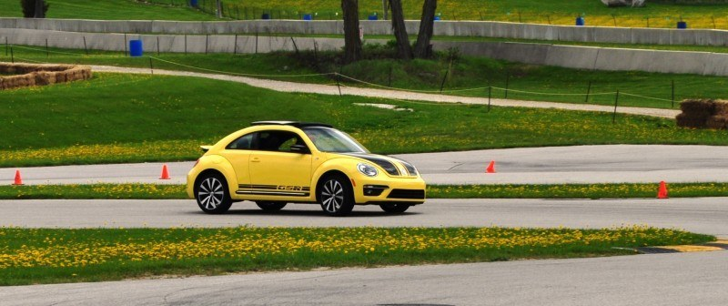 2014 Volkswagen Beetle GSR Scoots Around Go-Kart Autocross at Road America 32