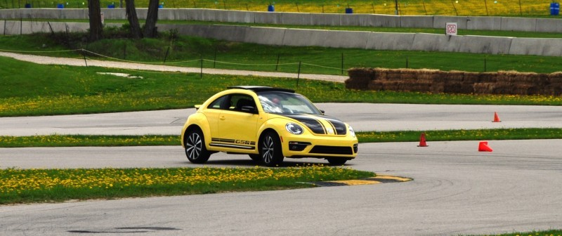 2014 Volkswagen Beetle GSR Scoots Around Go-Kart Autocross at Road America 33