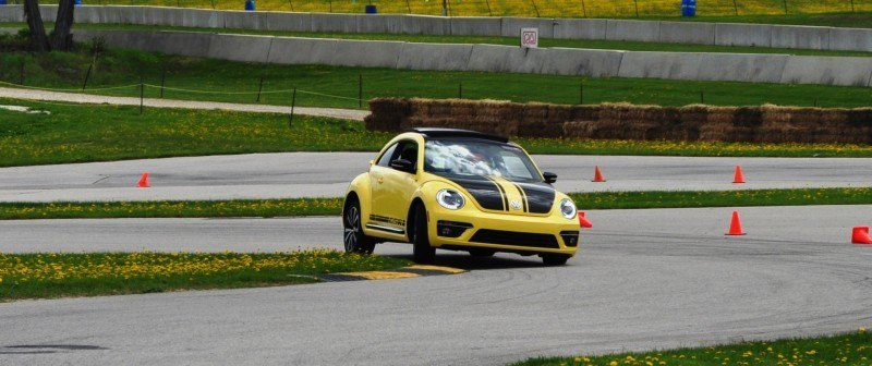2014 Volkswagen Beetle GSR Scoots Around Go-Kart Autocross at Road America 34