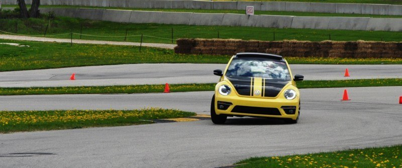 2014 Volkswagen Beetle GSR Scoots Around Go-Kart Autocross at Road America 35