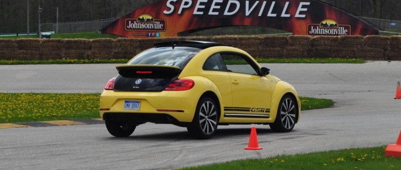 2014 Volkswagen Beetle GSR Scoots Around Go-Kart Autocross at Road America 38