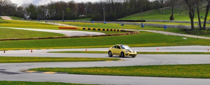 2014 Volkswagen Beetle GSR Scoots Around Go-Kart Autocross at Road America 4
