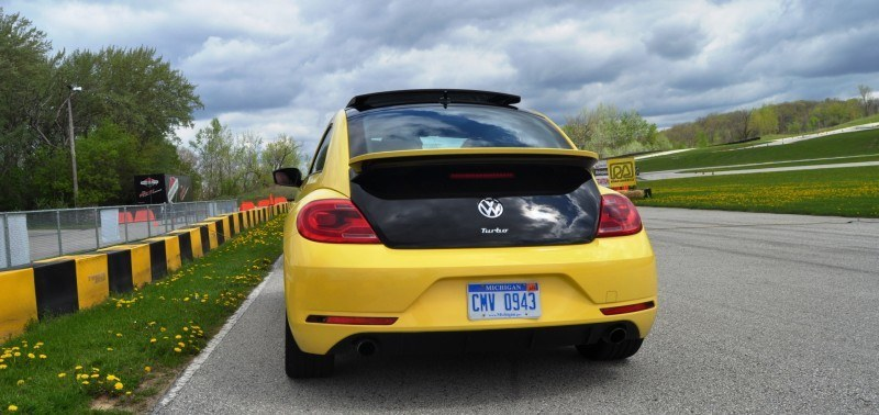 2014 Volkswagen Beetle GSR Scoots Around Go-Kart Autocross at Road America 45