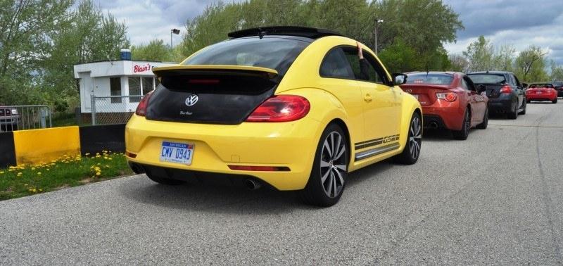 2014 Volkswagen Beetle GSR Scoots Around Go-Kart Autocross at Road America 50