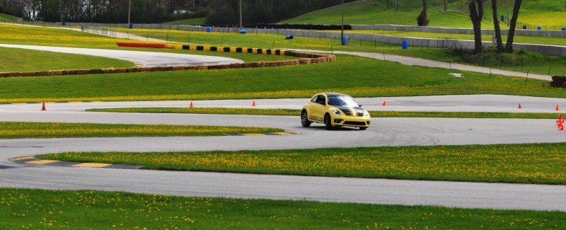 2014 Volkswagen Beetle GSR Scoots Around Go-Kart Autocross at Road America 5