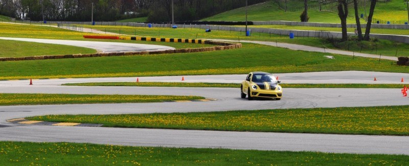 2014 Volkswagen Beetle GSR Scoots Around Go-Kart Autocross at Road America 6