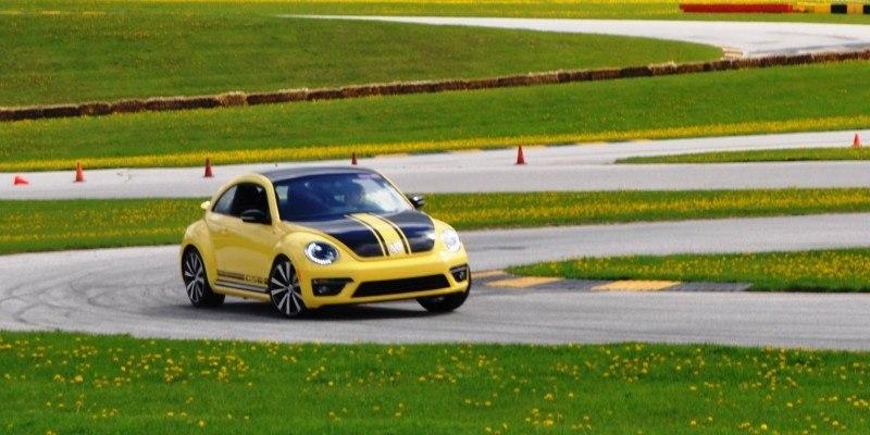 2014 Volkswagen Beetle GSR Scoots Around Go-Kart Autocross at Road America 9