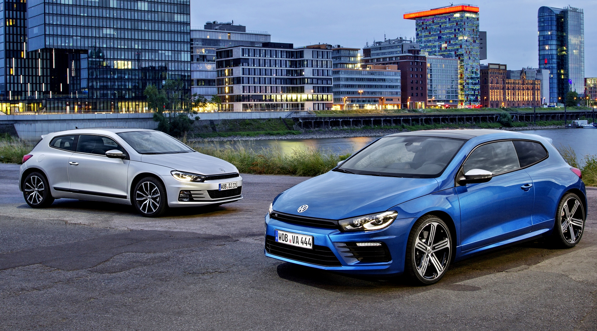 2015 Volkswagen Scirocco R and R-Line - Dynamic Launch ...