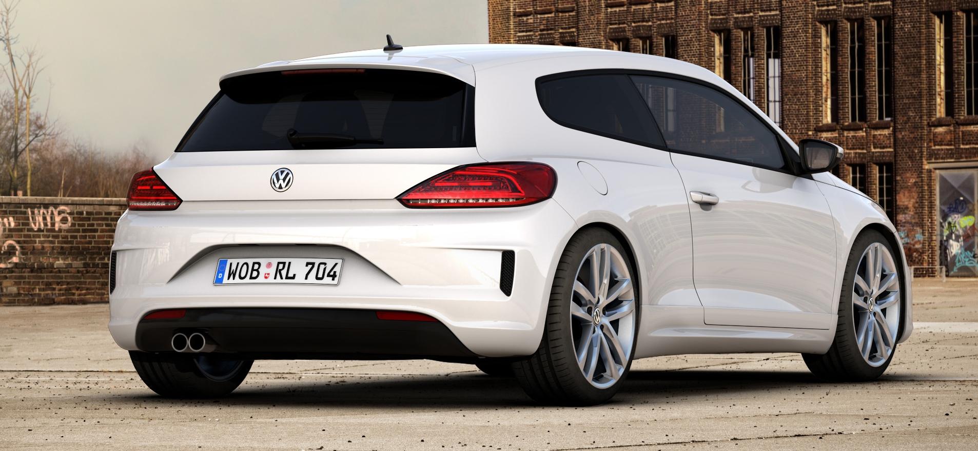 Volkswagen Scirocco R Line