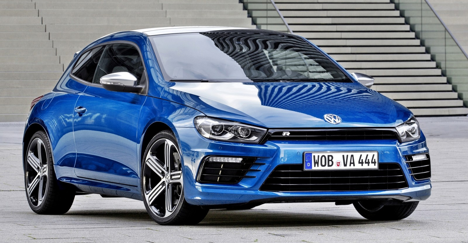 Der neue Volkswagen Scirocco R
