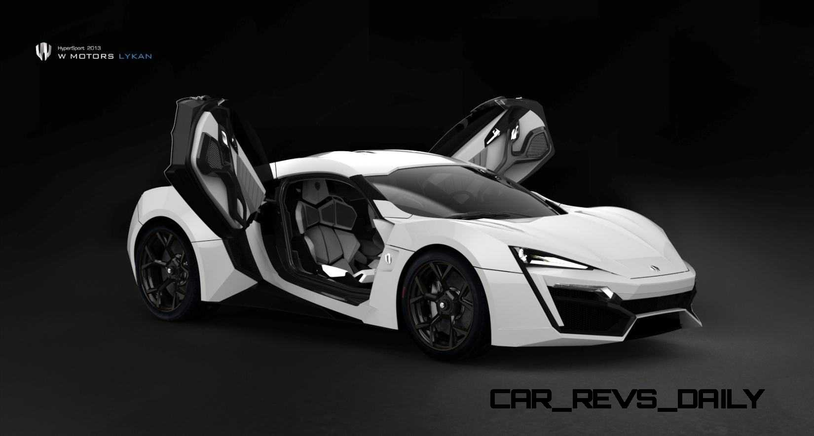 2014 W Motors Lykan Hypersport In 40 Amazing New Wallpapers Including Megalux Interior