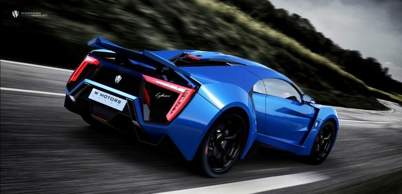 2014 W Motors Lykan Hypersport in 40+ Amazing New Wallpapers, Including MegaLux Interior 15