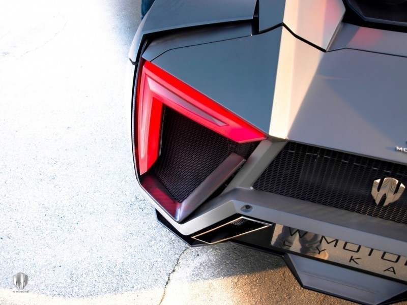 2014 W Motors Lykan Hypersport in 40+ Amazing New Wallpapers, Including MegaLux Interior 20