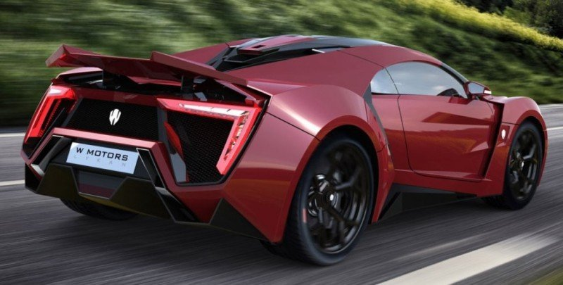 2014 W Motors Lykan Hypersport in 40+ Amazing New Wallpapers, Including MegaLux Interior 25