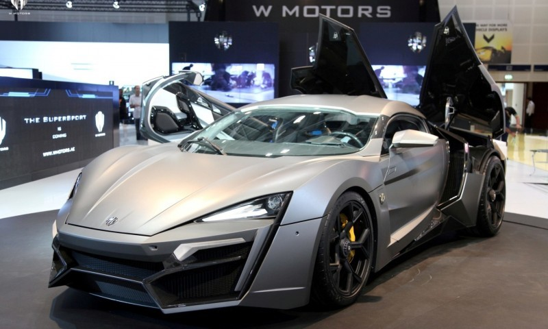 2014 W Motors Lykan Hypersport in 40+ Amazing New Wallpapers, Including MegaLux Interior 30