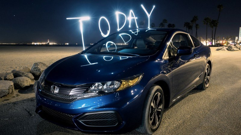 2014 Honda Civic Compaign Commercial Still